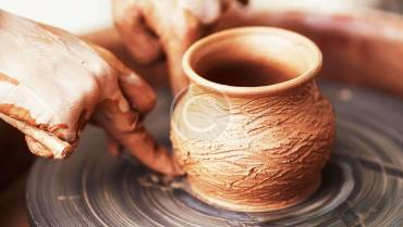Pottery wheel-throwing class starts May 8